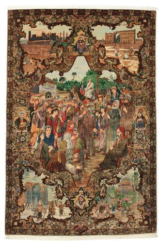 タブリーズ 50 Raj 絨毯 VAC152