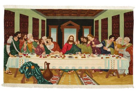 Tabriz 50 Raj met zijde tapijt VAZZU121