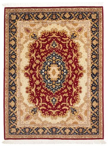 Tabriz 50 Raj with silk carpet VAZZU47
