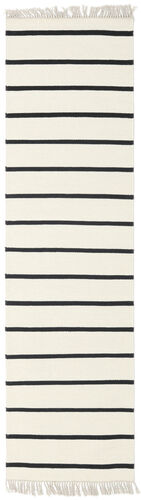 Dhurrie Stripe - White / Black carpet CVD1660