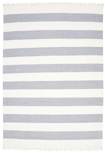 Cotton stripe - Steel Blue carpet CVD4908