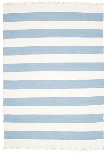 Cotton stripe - Light Blue carpet CVD4900
