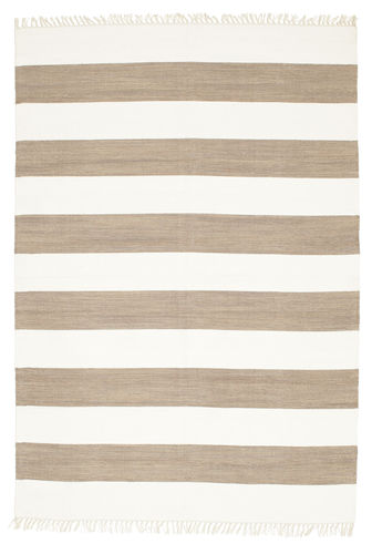 Cotton stripe - Brown rug CVD4895