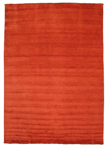 Handloom fringes - Rust / Red rug CVD5394