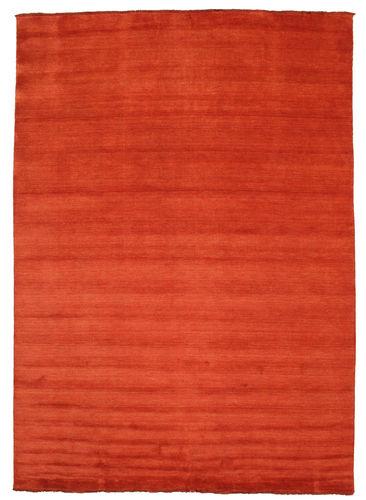 Handloom fringes - Rust / Red carpet CVD5394