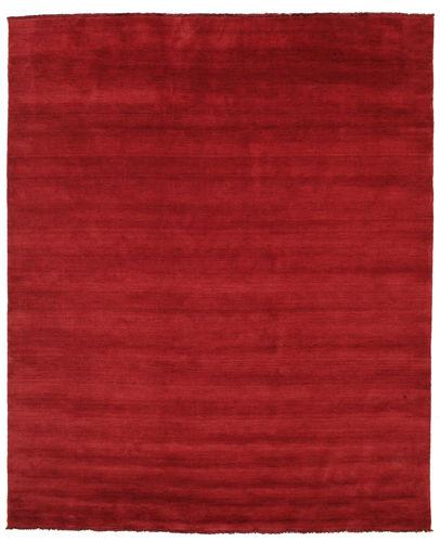 Handloom fringes - Mörkröd matta CVD5251