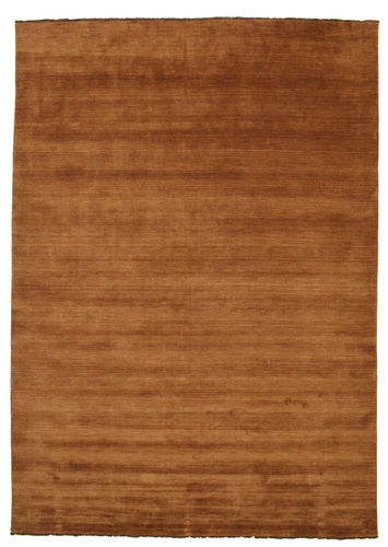 Handloom fringes - Brown rug CVD5218