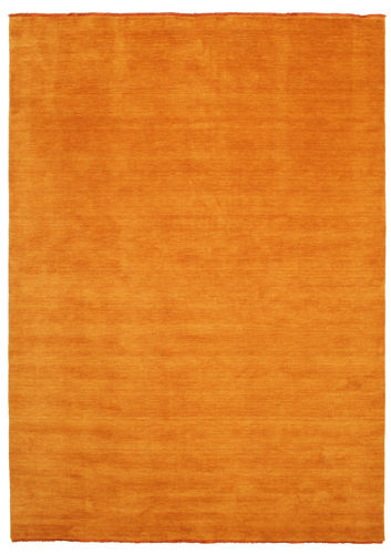 Handloom fringes - Orange carpet CVD5323