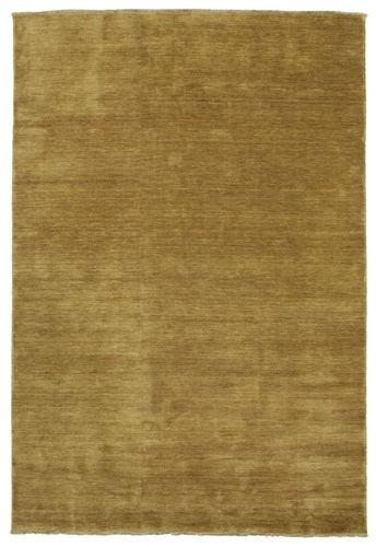 Handloom fringes - Olive Green rug CVD5346
