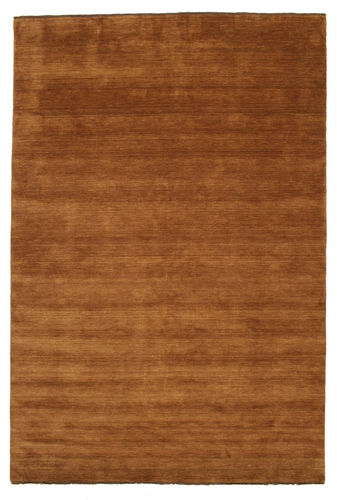 ハンドルーム fringes - 茶 絨毯 CVD5237