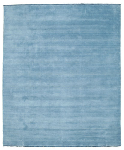Handloom fringes - Light Blue rug CVD5422