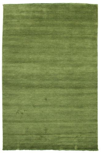 Handloom fringes - Grön matta CVD5280