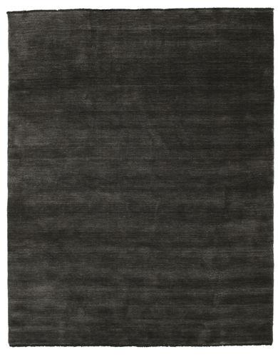 Tapis Handloom fringes - Noir / Gris CVD5475