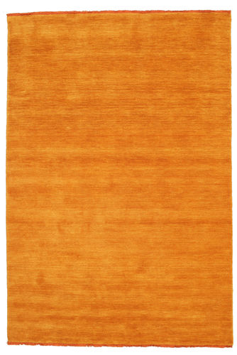 Tapis Handloom fringes - Orange CVD5333