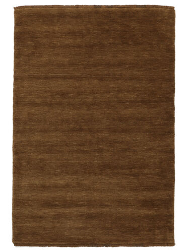 Handloom fringes - Brown rug CVD5220