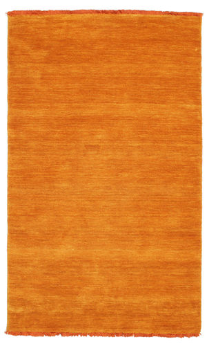 Tapis Handloom fringes - Orange CVD5338