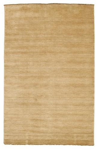 Handloom fringes - Beige rug CVD5499