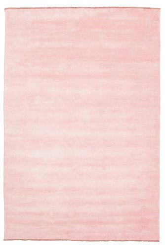 Handloom fringes - Roze tapijt CVD5301