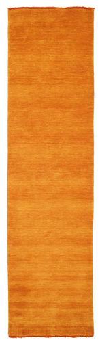Handloom fringes - oransje teppe CVD5325