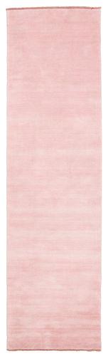 ハンドルーム fringes - ピンク 絨毯 CVD5304
