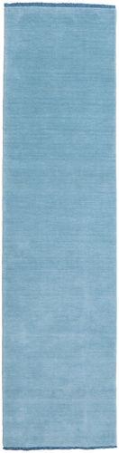 Handloom fringes - Ljusblå matta CVD5439