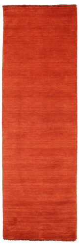 Handloom fringes - Rust / Red rug CVD5414