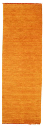 Tapis Handloom fringes - Orange CVD5332