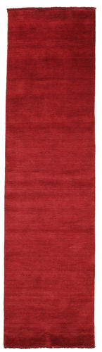 Handloom fringes - Mørk rød teppe CVD5250