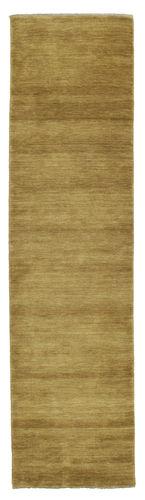 Handloom fringes - Olive Green carpet CVD5364