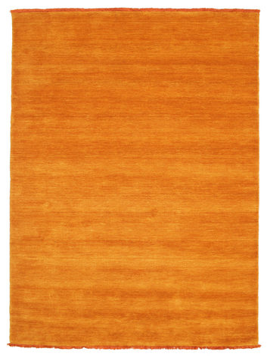 ハンドルーム fringes - オレンジ 絨毯 CVD5335