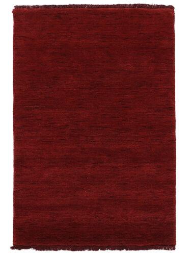 Handloom fringes - Donkerrood tapijt CVD5259