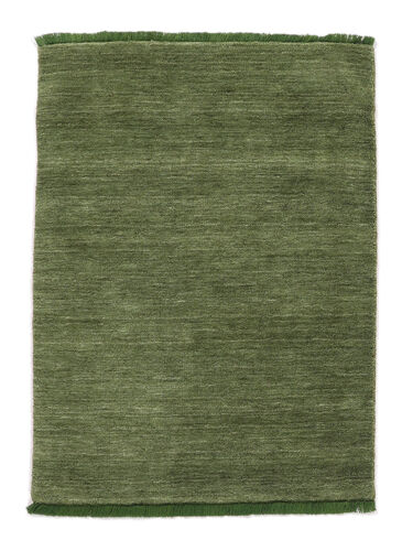 Handloom fringes - Green carpet CVD5286