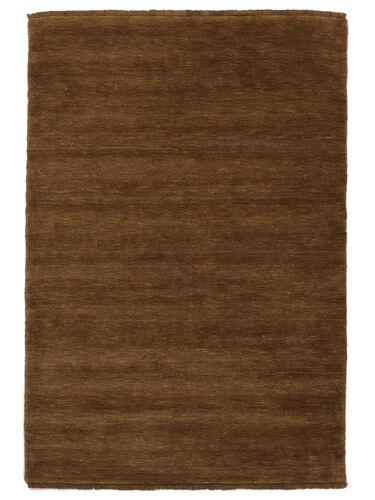Handloom fringes - Brown carpet CVD5234