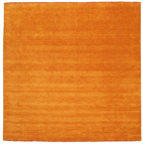 Handloom fringes - Orange rug CVD5327