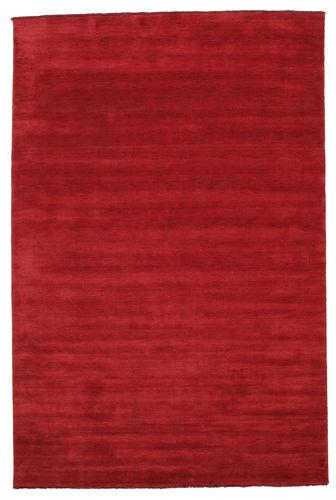 ハンドルーム fringes - 深紅色の 絨毯 CVD5249