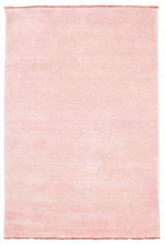 Handloom fringes - Pink rug CVD5313