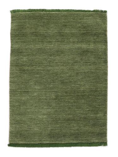 Handloom fringes - Green carpet CVD5288