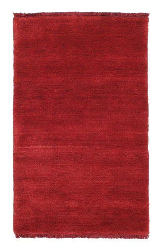 Handloom fringes - Dark Red rug CVD5264