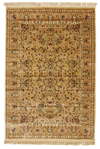 Tapis Kerman Diba - Marron clair / Beige RVD7169