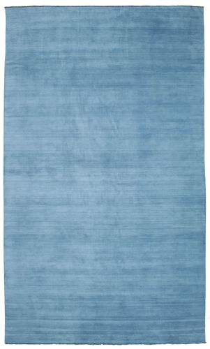 Handloom fringes - Light Blue carpet CVD5417