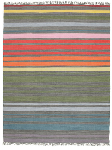 Rainbow Stripe - Grey carpet CVD5804