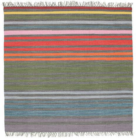 Rainbow Stripe - Grå tæppe CVD5807