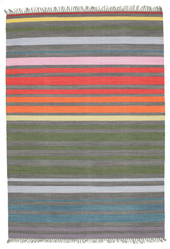 Rainbow Stripe - Grey rug CVD5805
