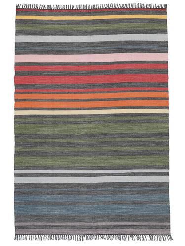 Rainbow Stripe - Grey rug CVD5805