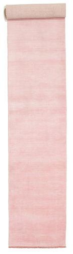 ハンドルーム fringes - ピンク 絨毯 CVD5295