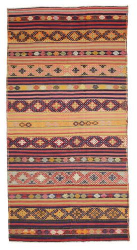 キリム セミアンティーク トルコ 絨毯 XCGH1373