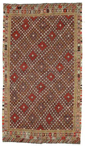 Tapis Kilim semi-antique Turquie XCGH1345