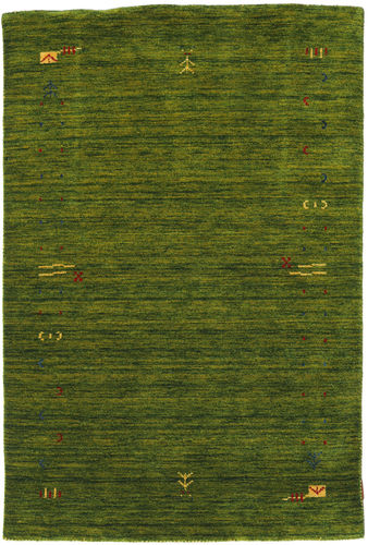 Gabbeh Loom Frame - Green carpet CVD5717