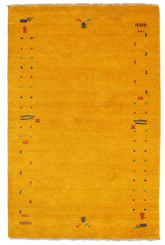 ギャッベ ルーム - 黄色 / ゴールド 絨毯 CVD5918