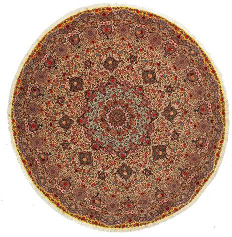 Tabriz 70 Raj silkerenning teppe VEXJ15